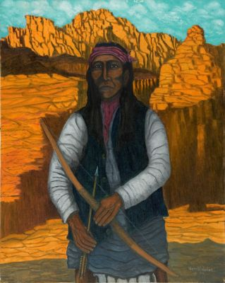 Apache Man (Cochise), by Gerald Nailor